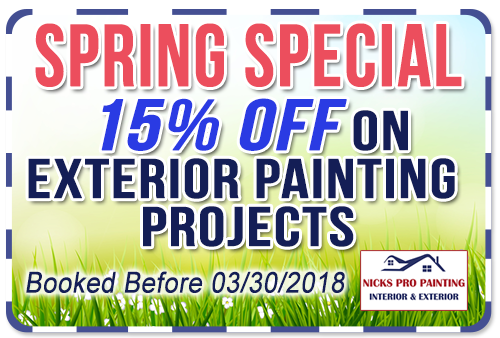 Spring Exterior Painting Special