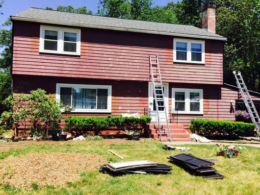 Milford Exterior House Painting