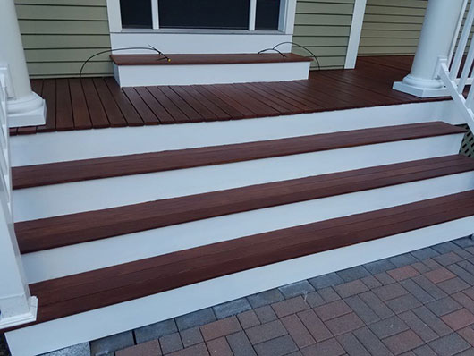 Porch Deck Refinishing Natick After
